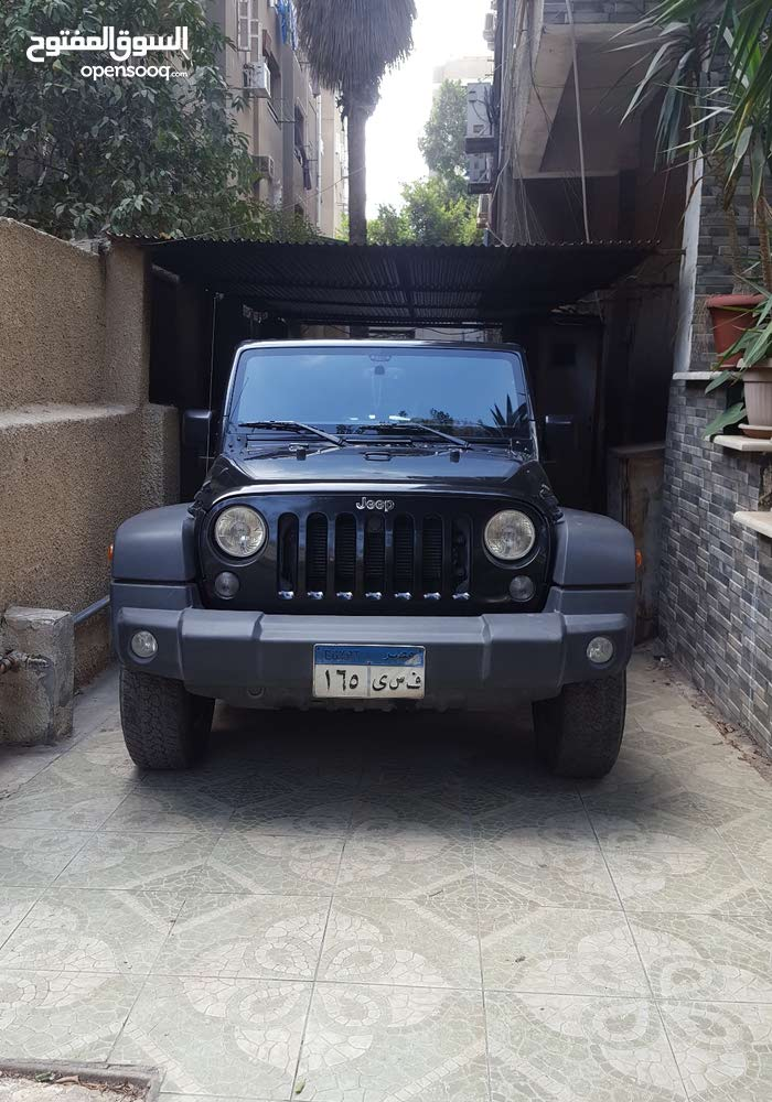 Jeep Wrangler 2017 for sale in Cairo