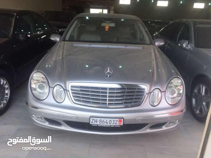 Grey Mercedes Benz E 240 2004 for sale