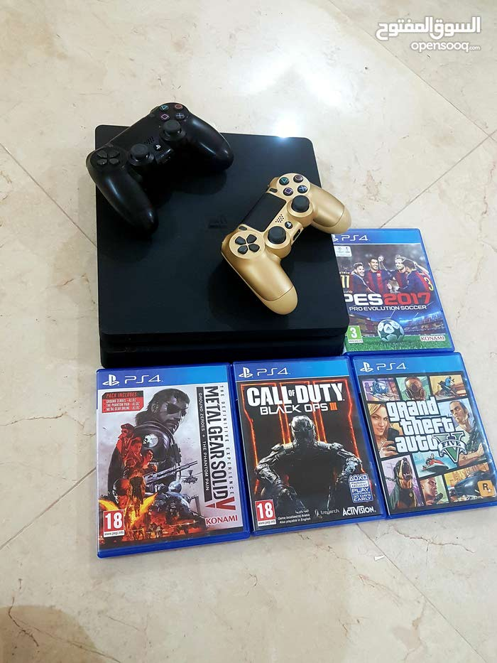 Used Playstation 4 device up for sale