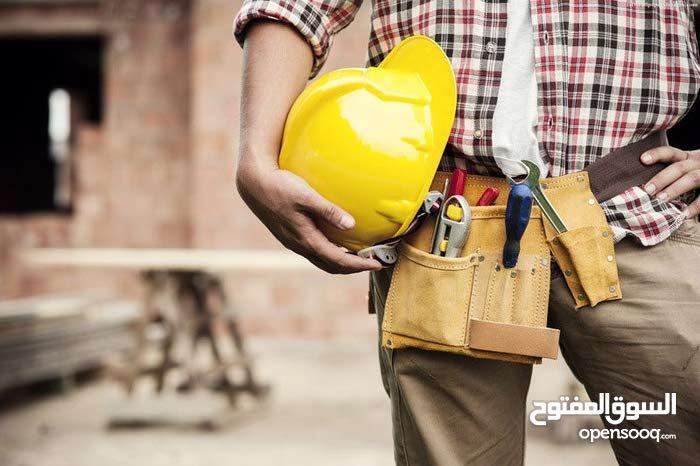 أعمال الصيانة العامة، التشطيبات،العزل المائي والحراري