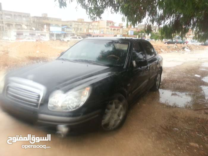 Hyundai Sonata 2004 For sale - Black color