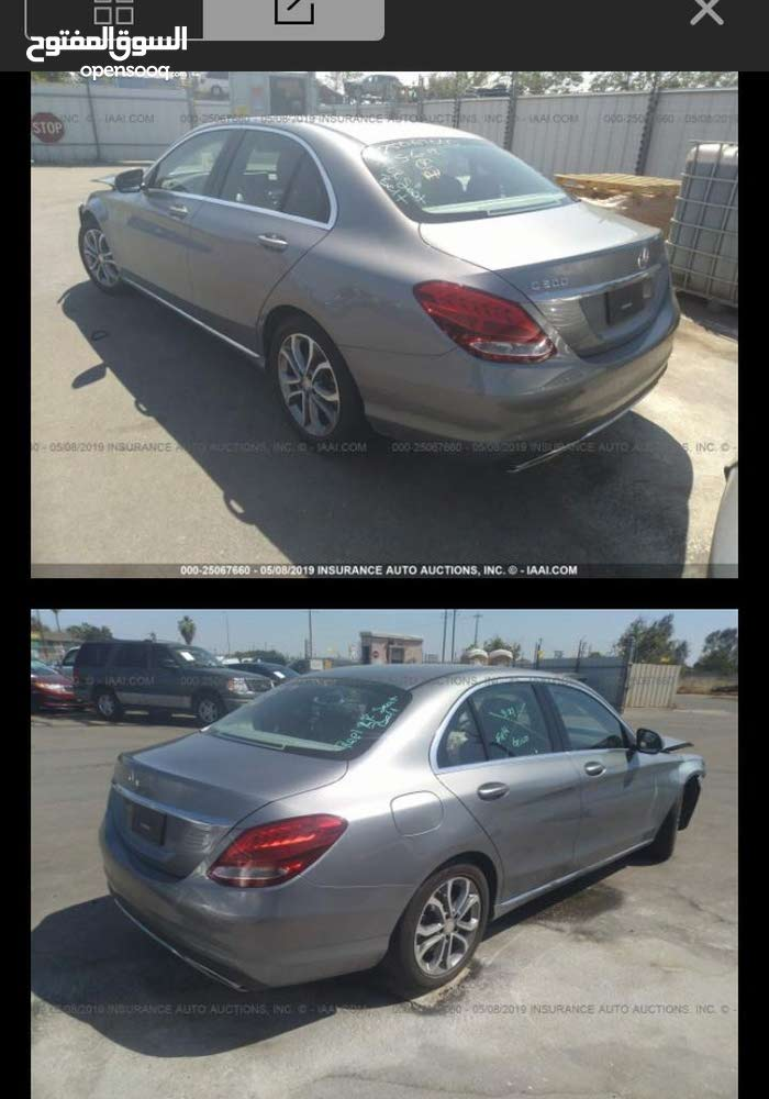Mercedes Benz C 300 2016 For sale - Silver color