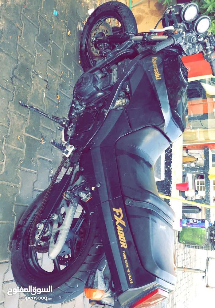 Used Kawasaki motorbike in Basra