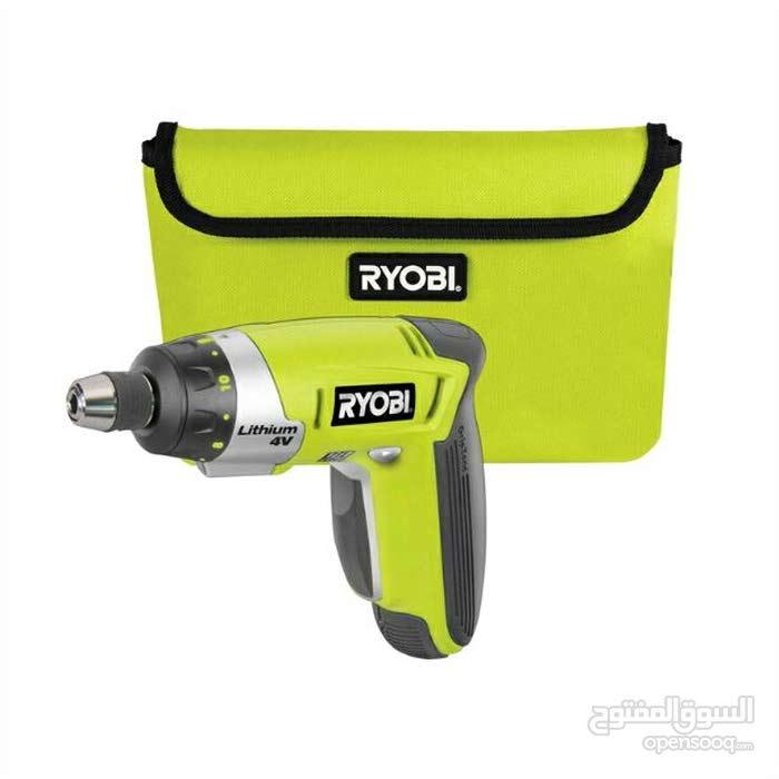 درل شحن Ryobi كبس للبراغي قوة 4 فولت