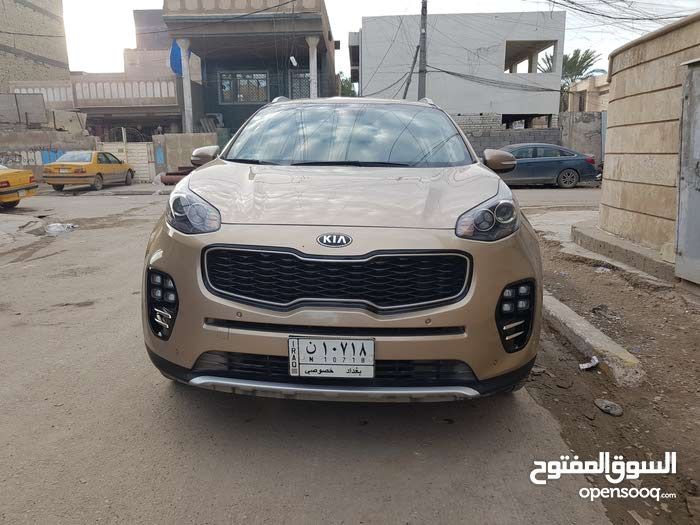 Kia Sportage car for sale 2017 in Baghdad city