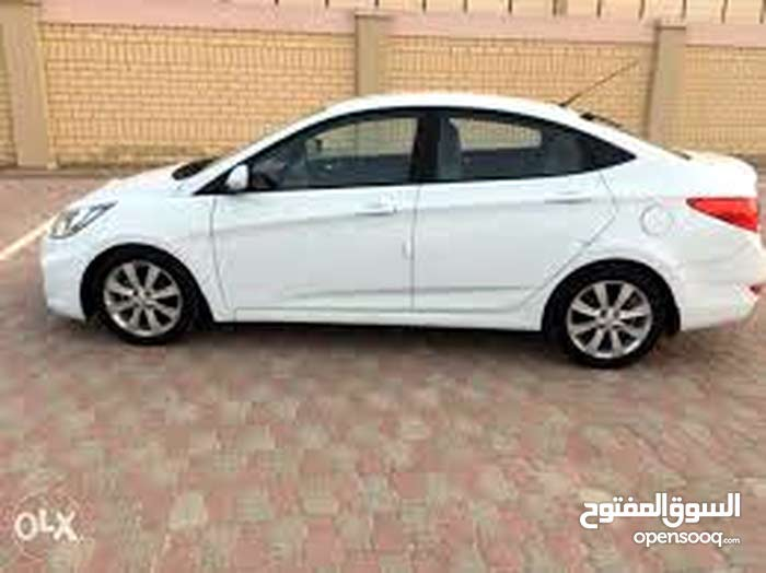 Renting Hyundai cars, Accent 2015 for rent in Irbid city