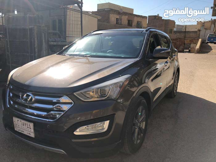2014 Used Santa Fe with Automatic transmission is available for sale