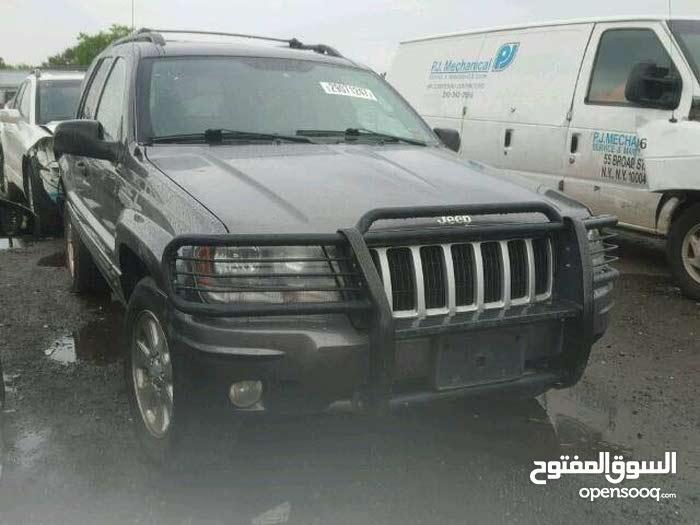 Jeep Grand Cherokee in Benghazi