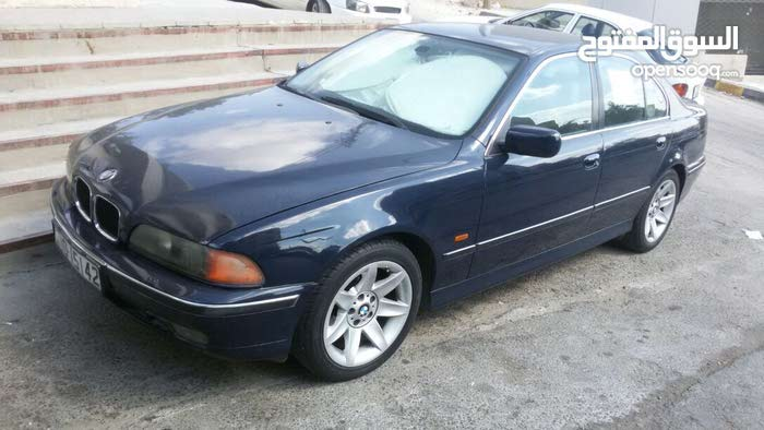 Blue BMW 520 1997 for sale