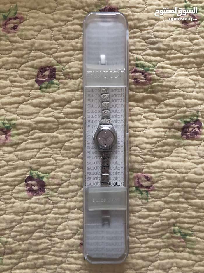 ساعة سواتش اصلية استعمال خفيف swatch