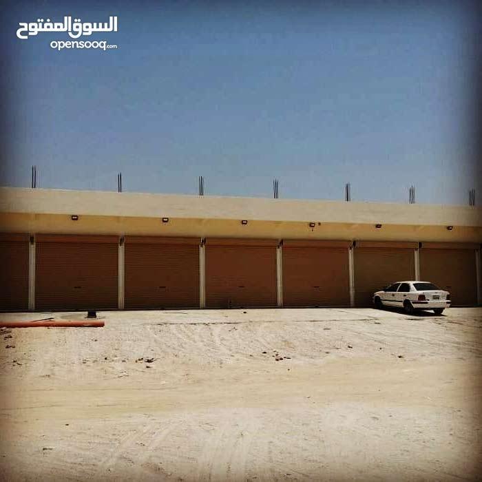 محلات للإيجار في المنطقة الصناعية الجديدة في سوق واقف