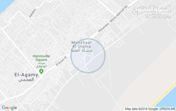 العجمي طريق اسكندرية مطروح واجهة بحريه كامل التشطيب و العدادات ومسجل