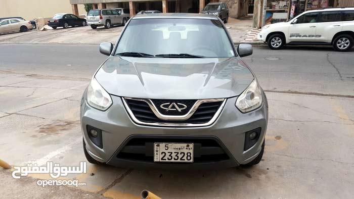 Chery Tiggo 2014 For sale - Grey color