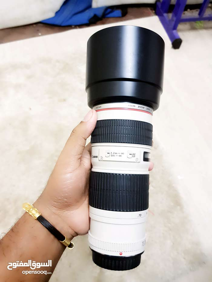 canon 70-200mm   zooming lens    f/4L Usm