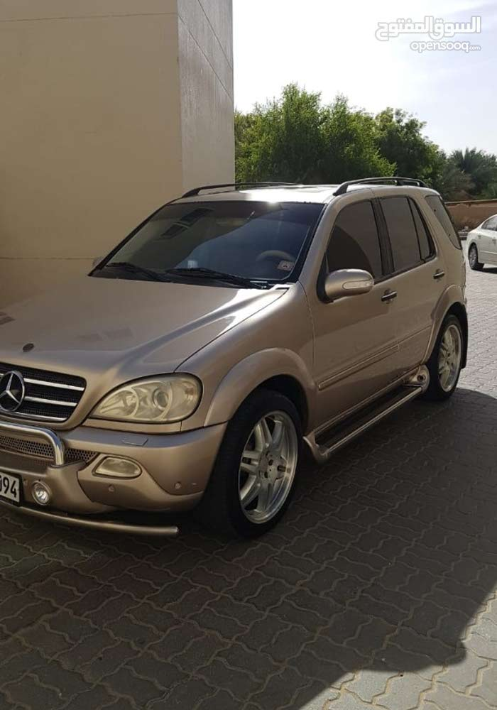 Original Brabus ML500 full option well maintained