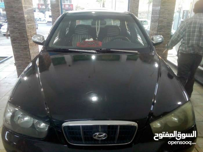 Manual Black Hyundai 2001 for sale