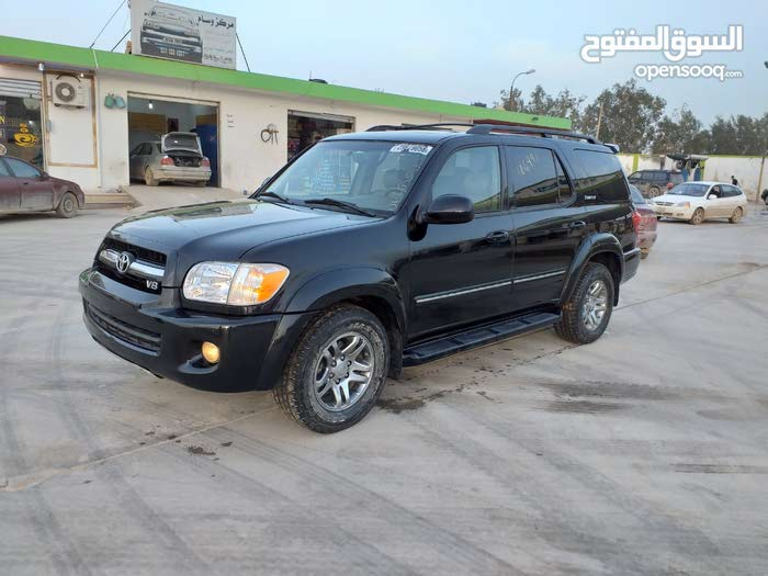 Toyota Sequoia car for sale 2005 in Benghazi city