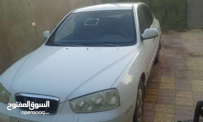 Manual White Hyundai 2003 for sale