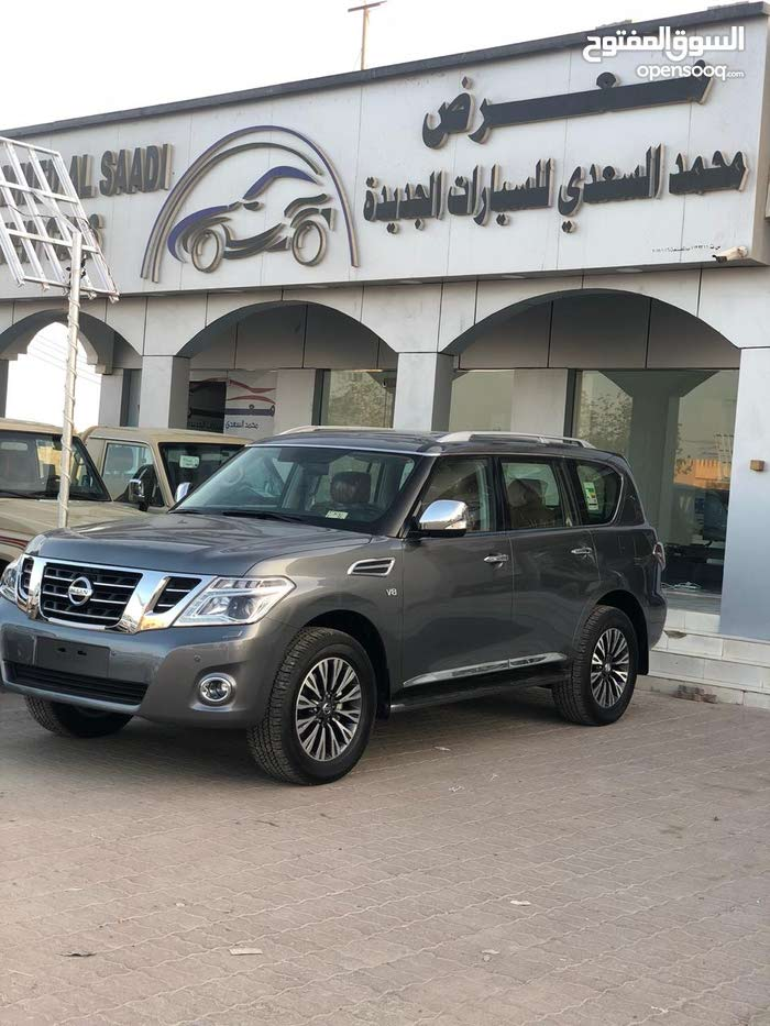 New condition Nissan Patrol 2018 with  km mileage