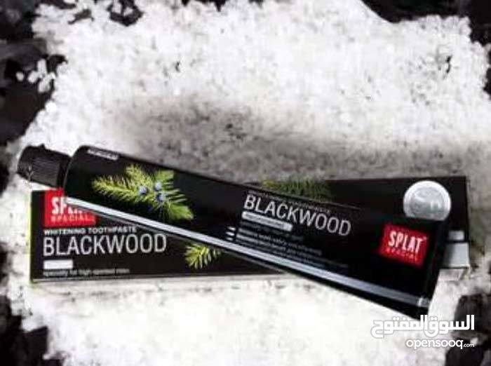 معجون الأسنان black wood