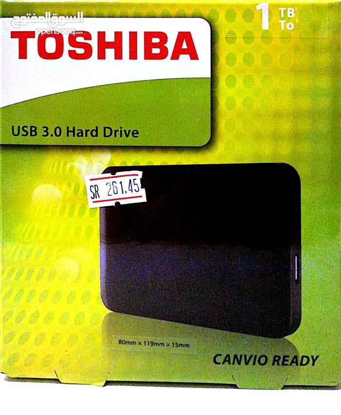 Toshiba ext. hard 1tb USB 3