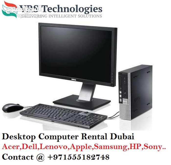 Desktop Rental Dubai - Desktop for Lease in Dubai
