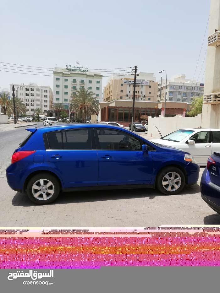 Blue Nissan Tiida 2012 for sale
