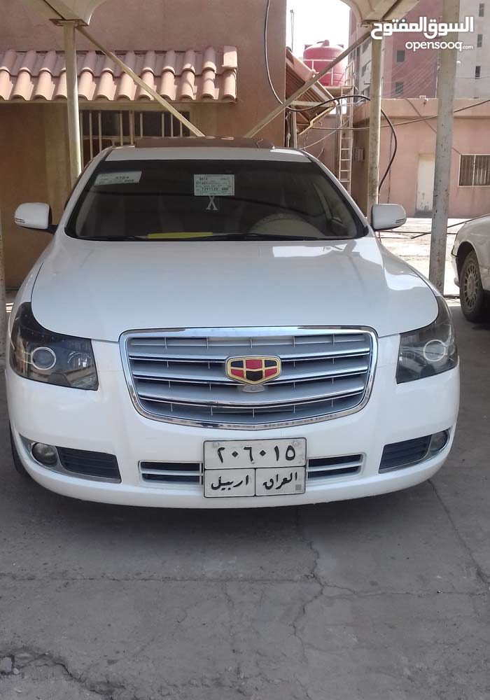Automatic Geely 2014 for sale - Used - Basra city