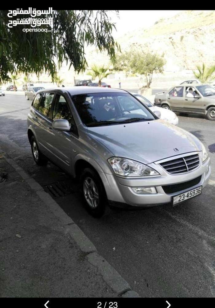 km mileage SsangYong Kyron for sale