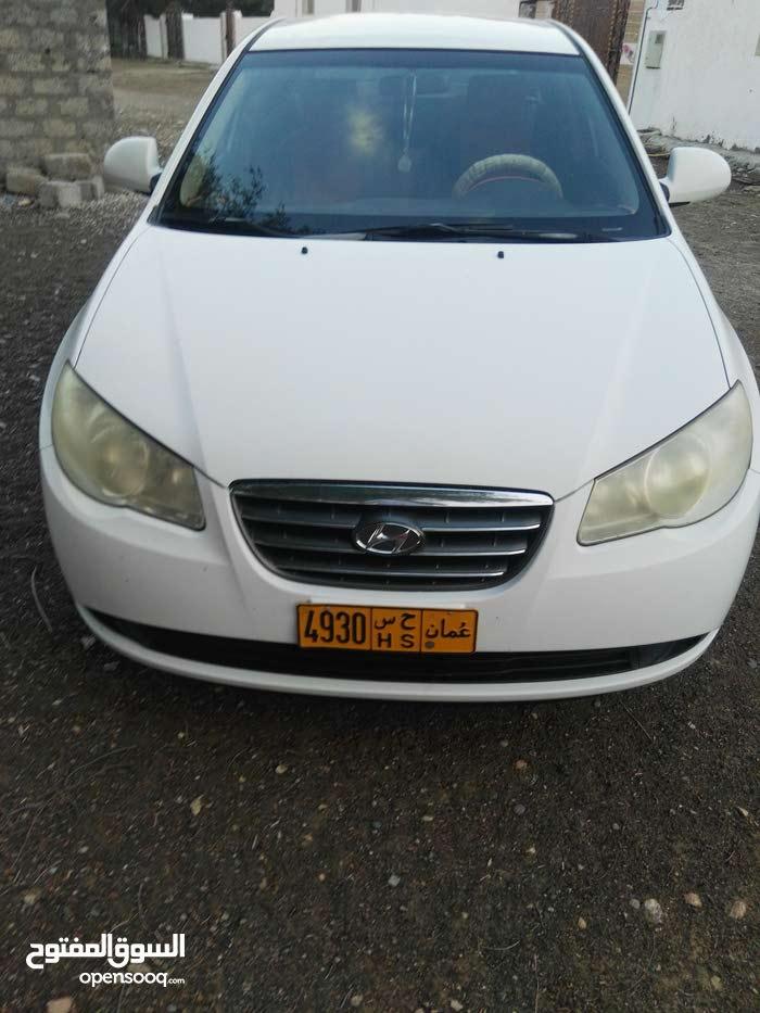Hyundai Elantra 2008 For sale - White color