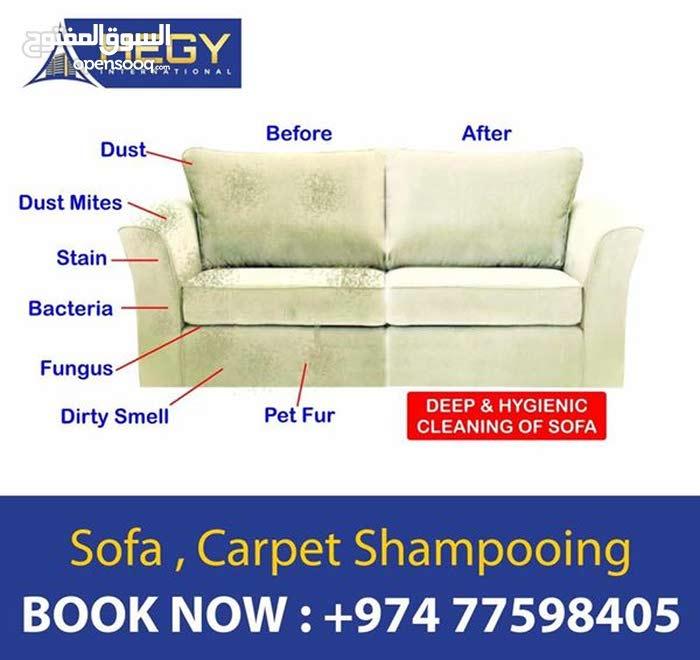 Sofa Cleaning in Qatar