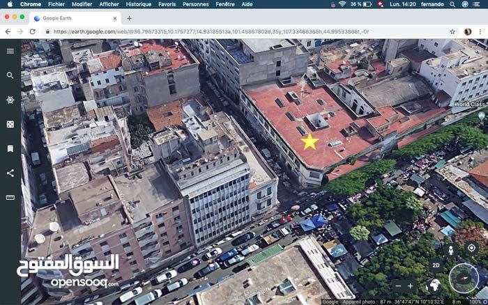 طابق عمارة في قلب العاصمة نهج إسبانيا