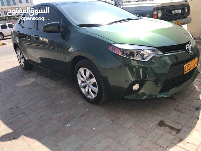 Green Toyota Corolla 2015 for sale