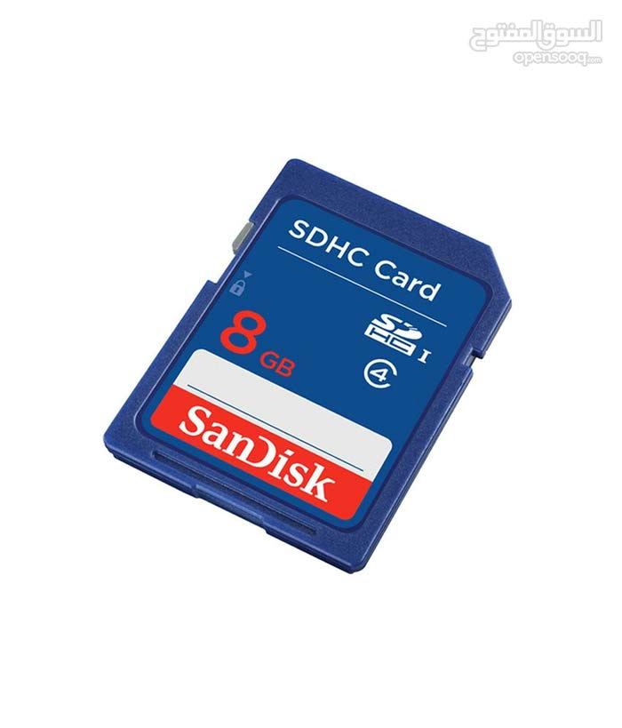 SDHC Card ميموري كارت 8 غ أصلي للأستبدال بمموري ظفر