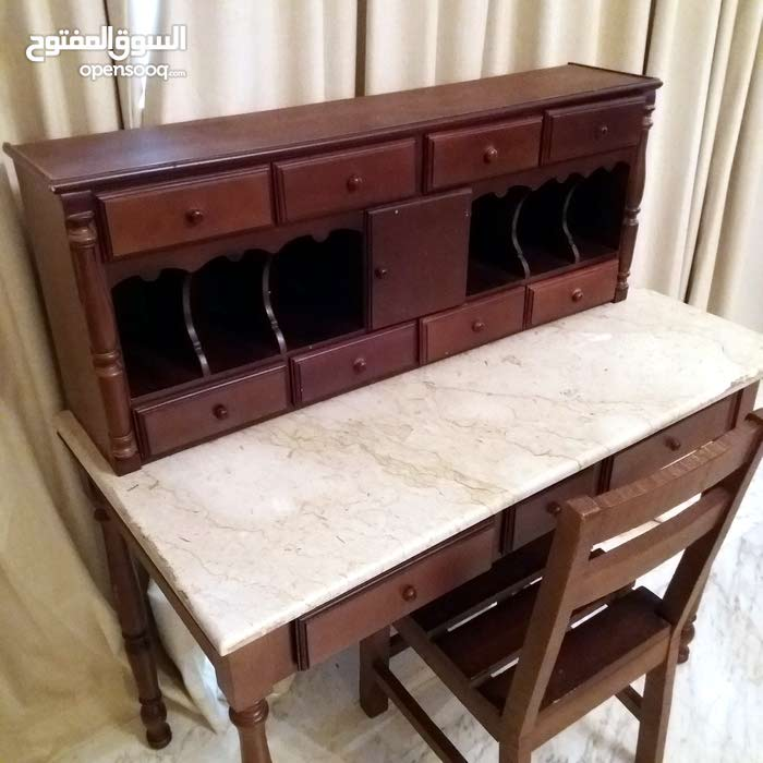 Antique vintage classic luxurious Handmade table with Chair