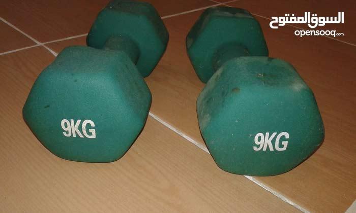 دمبل وزن 9 كيلوجرام