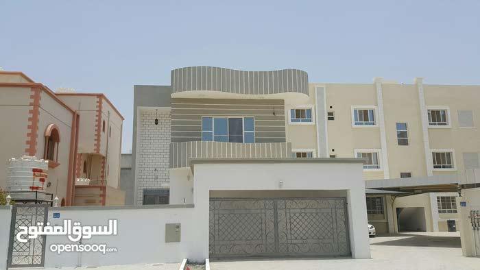 Al Maabilah neighborhood Seeb city - 410 sqm house for sale