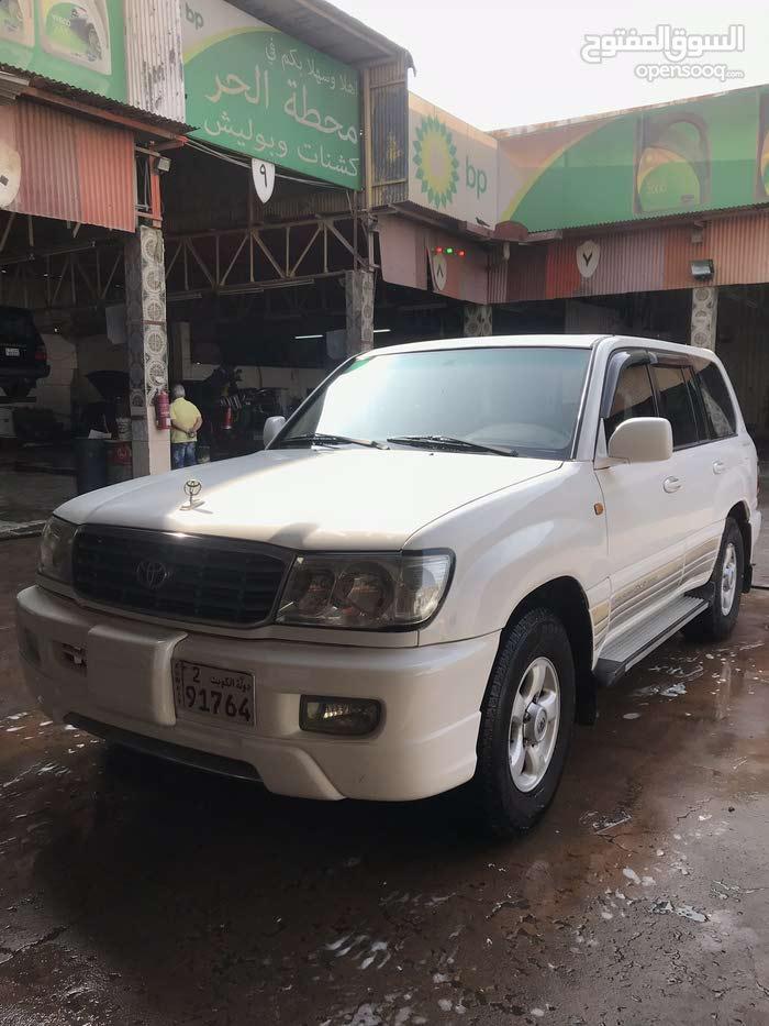 White Toyota Land Cruiser 1999 for sale