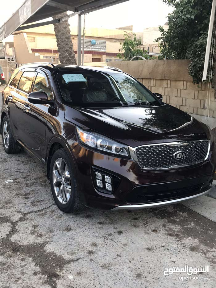 Used condition Kia Sorento 2016 with  km mileage