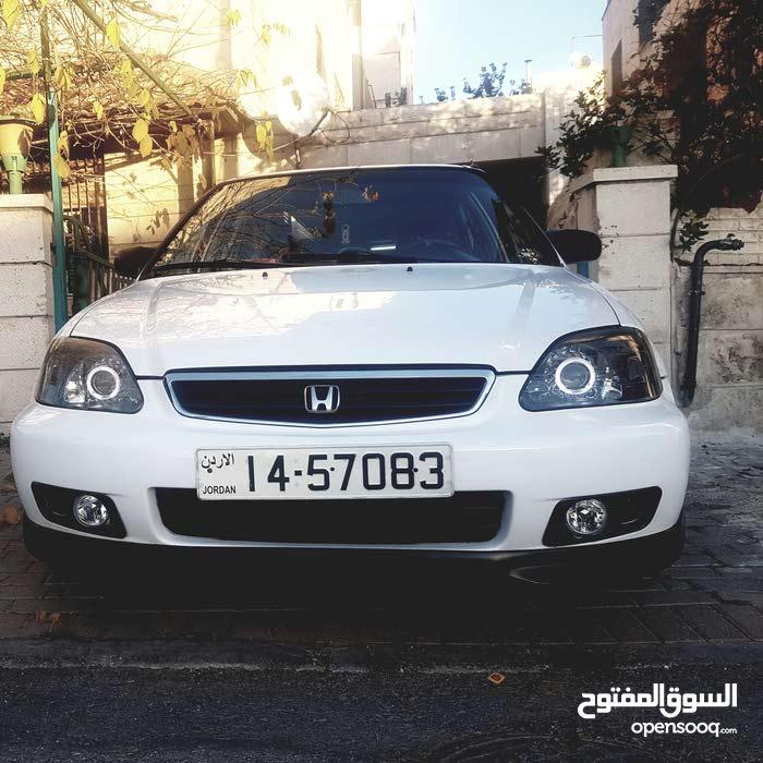 Automatic White Honda 1996 for sale