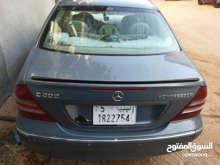 Used Mercedes Benz C 200 for sale in Tripoli
