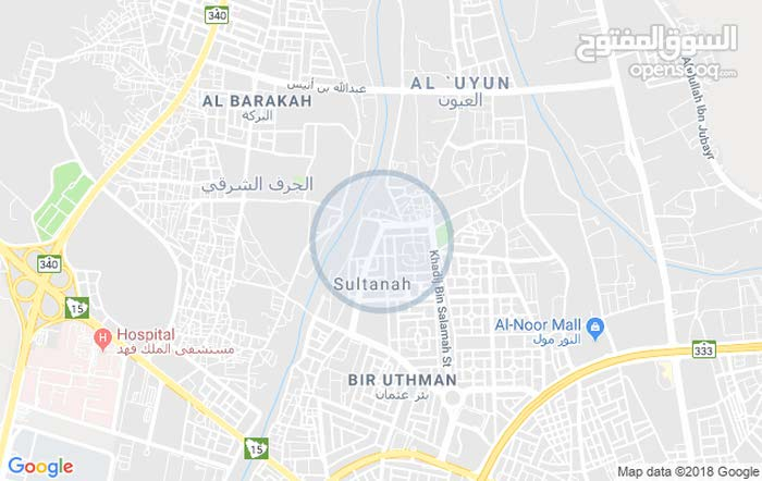 Ground Floor  apartment for rent with 2 rooms - Al Madinah city Bir Uthman