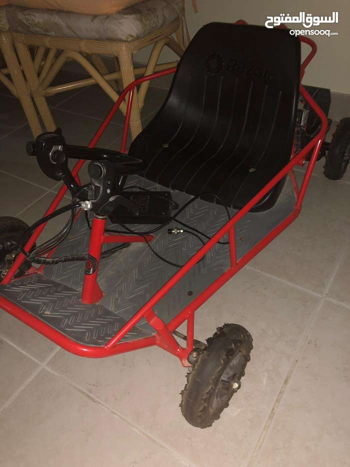 razor go kart Electricly charged