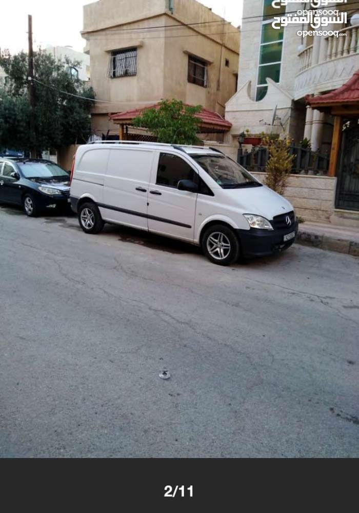 For sale Mercedes Benz V Class car in Amman