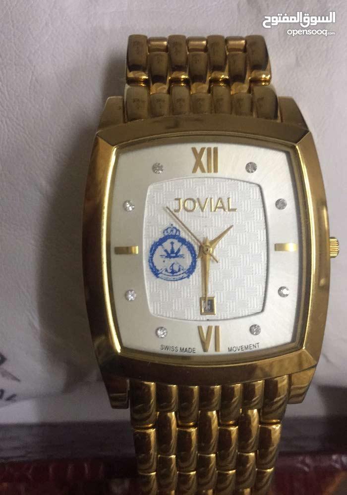 ساعة جوفيال اصليه فيها شعار البحرية