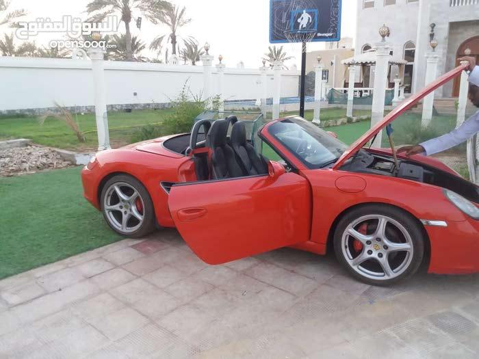 Red Porsche Boxster 2006 for sale
