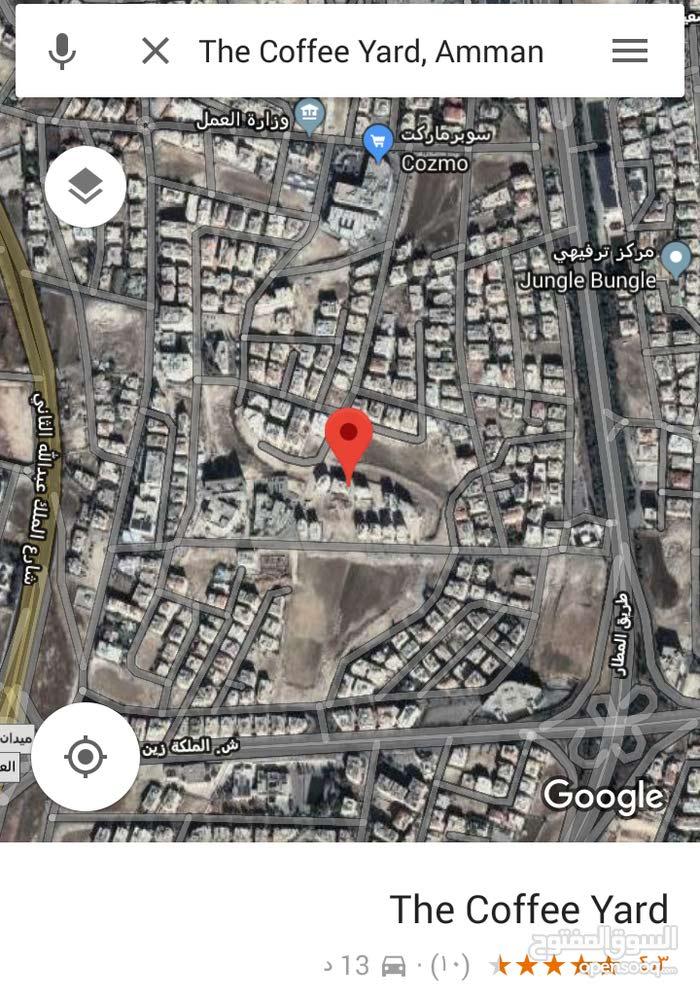 أرض تجاري 600م في عمان الغربية في الرونق