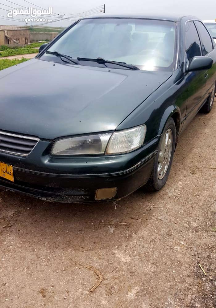 Green Toyota Camry 1999 for sale