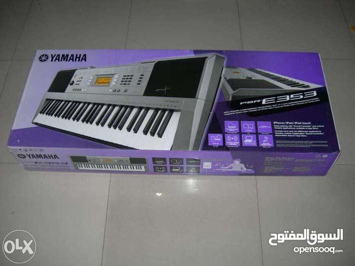 Yamaha psr-E353 اورج موسيقى