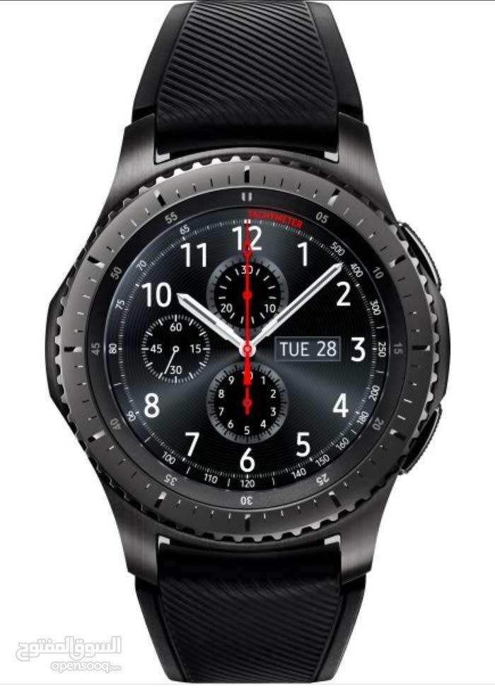 ساعة Samsung gear s3 frontier ساعة قير اس 3 فورنتير للبيع